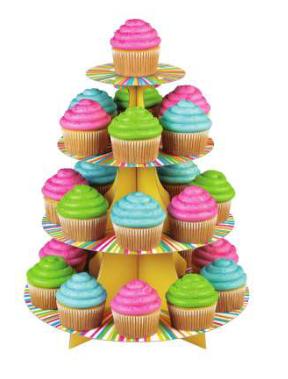 Alzatina 24 cupcakes