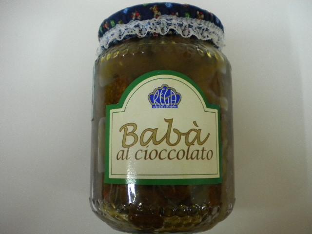 Babà al cioccolato
