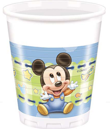 Bicchieri Baby Mickey