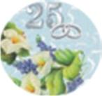 Cialda  25° anniversario