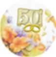 Cialda  50°  anniversario