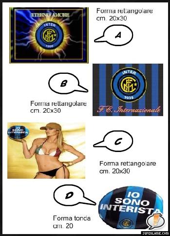 Cialda squadra Inter
