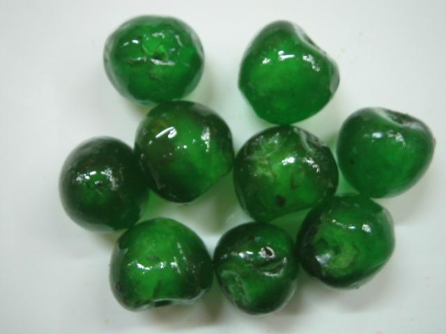 Ciliege verdi candite