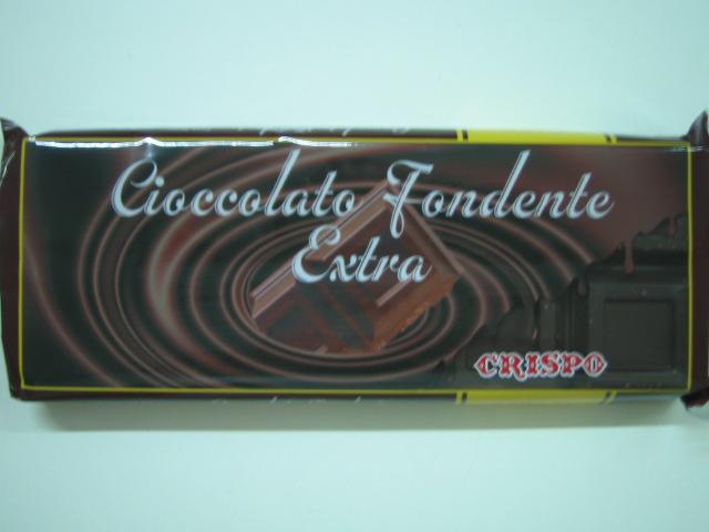 Cioccolato fondente extra