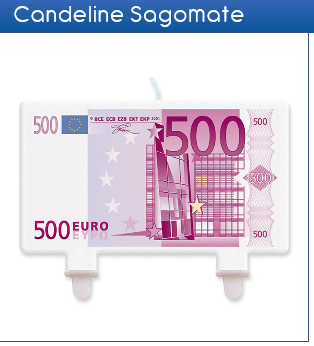 Candela sagomata 500€