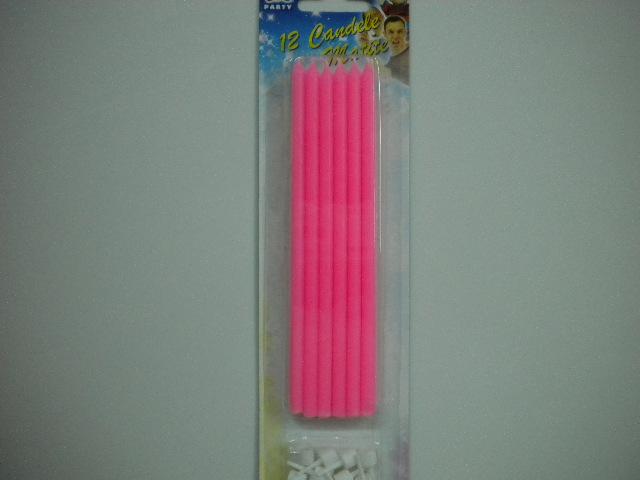 Candeline matite rosa