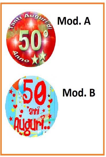 Cialda 50 anni
