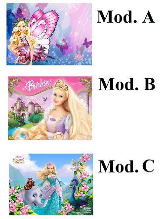 Cialda Barbie cm. 20x30
