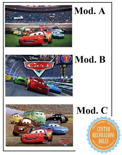 Cialda Cars cm. 20x30