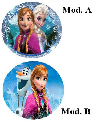 Cialda Frozen cm. 21
