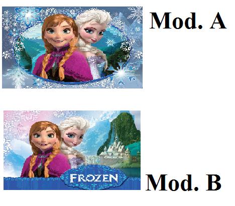 Cialda Frozen cm. 20x30