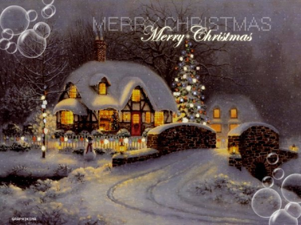 Cialda Merry Cristmas