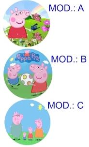 Cialda Peppa Pig cm. 21