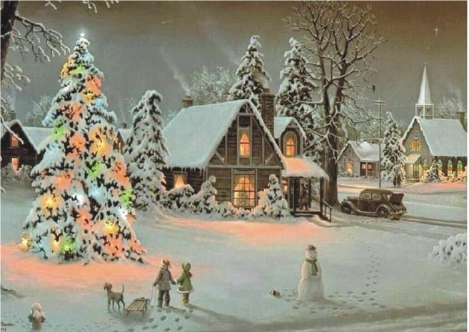 Cialda di Natale