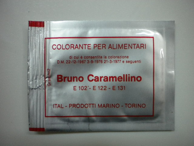 Coloranti in polvere bruno caramello
