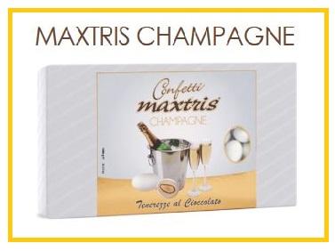 Confetti Maxtris champagne