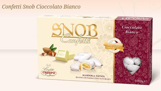 Confetti Snob al cioccolato bianco