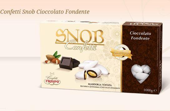 Confetti Snob al cioccolato fondente