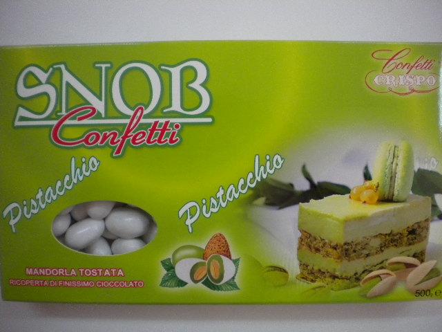 Confetti snob al pistacchio