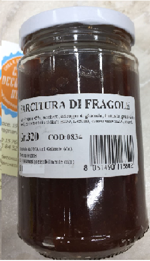 Crema spalmabile fragola