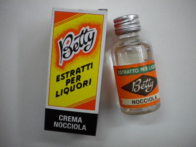 Estratti per liquori Betty crema nocciola