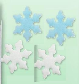 Fiocchi di neve in cialda