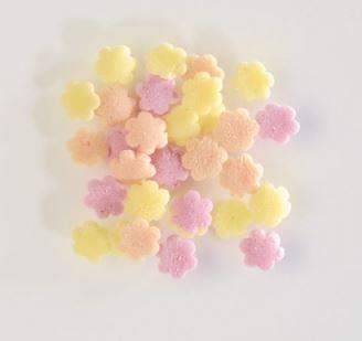 Fiori di zucchero tricolore