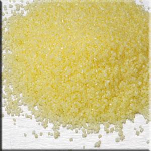 Cristalli di zucchero giallo