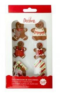 Gingerbread in zucchero