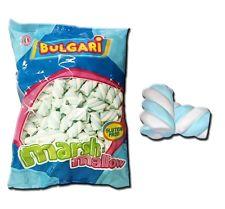 Marshmallow treccia bianco e azzurro