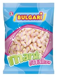 Marshmallow tubo giallo e rosa