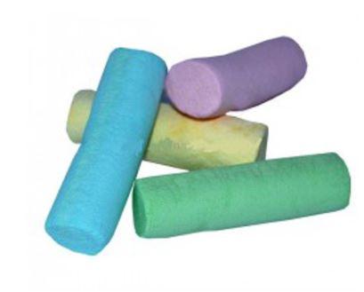 Marshmallow tubo colorato