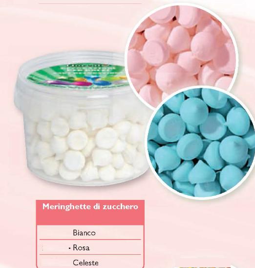 Meringhette di zucchero