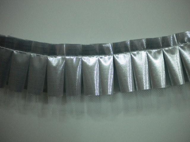 Nastro colly argento