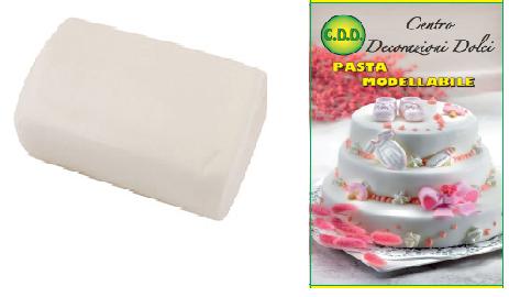 Pasta di zucchero 500 gr. bianca
