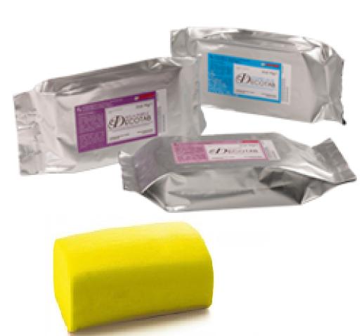 Pasta di zucchero giallo gr. 250