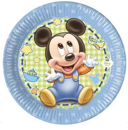 Piatti Baby Mickey