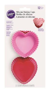 Pirottini in silicone cuore