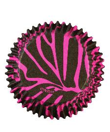 Pirottini zebrato rosa e nero