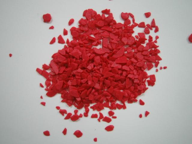 Scaglietta cioccolato rosso/fucsia