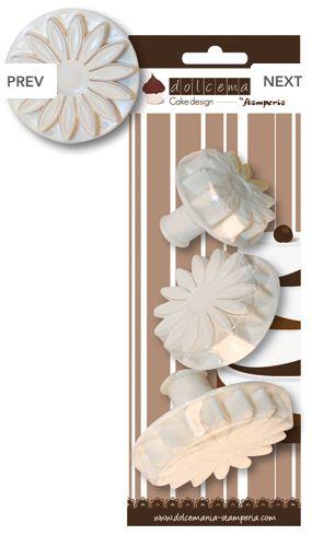 Set 3 stampi girasole
