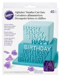 Set 40 tagliapasta alfa numerico