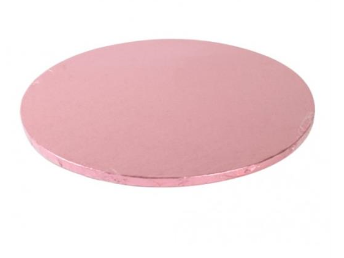 Sottotorta tondo rosa