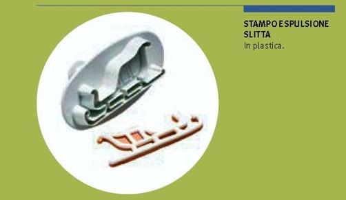 Stampo espulsione slitta cm. 2