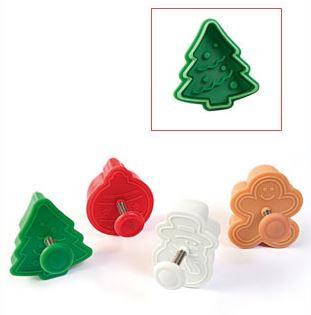 Stampo ad espulsione Christmas