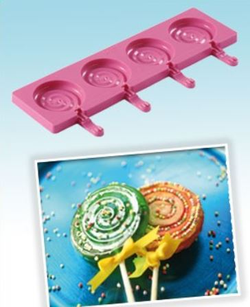 Stampo in silicone per lolly pop