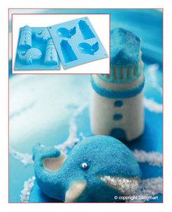 Stampo in silicone Happy Sea
