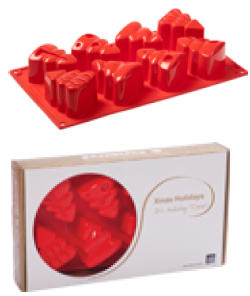 Stampo in silicone alberelli