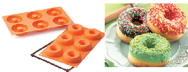 Stampo in silicone Donuts