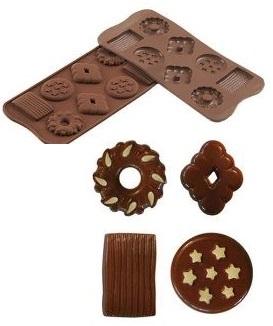 Stampo in silicone biscotti